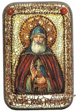 Илья Муромец, Печерский икона подарочная 10х15 см