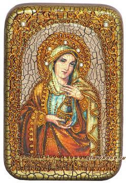 Мария Магдалина икона подарочная 10х15 см