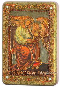 Марк Апостол икона подарочная 10х15 см