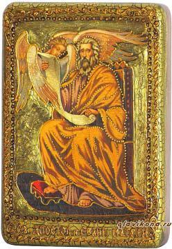 Матфей Апостол, подарочная икона на дубе, малая