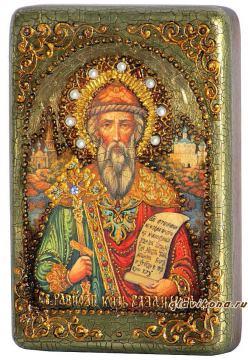 Владимир Князь икона подарочная 10х15 см