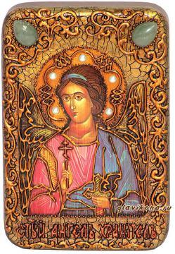 Ангел Хранитель (с мечом) икона подарочная 10х15 см