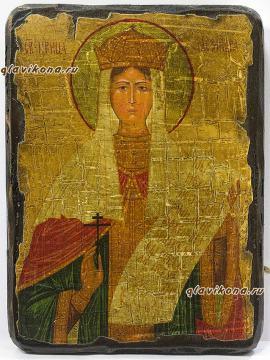 Святая Александра - состаренная икона