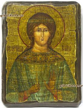 Святая Вера - икона под старину