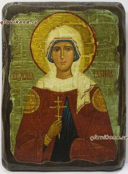 Икона Галины сделанная под старину