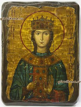 Екатерина - икона под старину