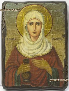 Иоанна Мироносица - состаренная икона
