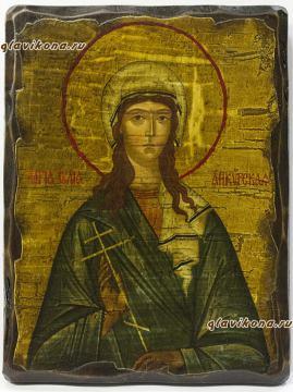 Икона под старину святой Иулии