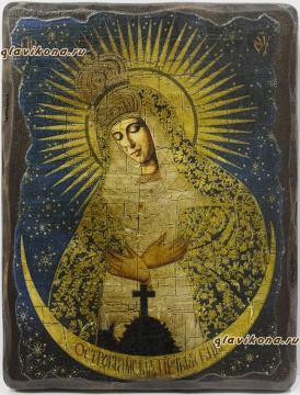 Остробрамская икона под старину