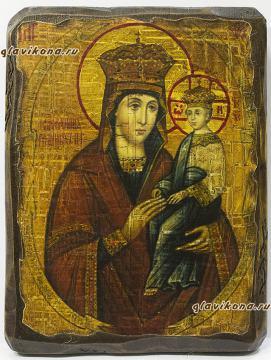 Споручница - икона под старину
