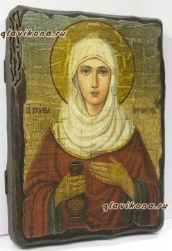 Икона Иоанна Мироносица: вид сбоку