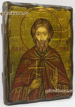 Икона Леонида: вид сбоку