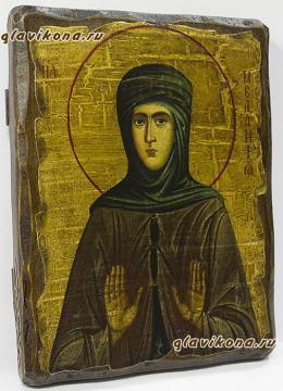 Мелания Римляныня (Вифлеемская), икона искусственно состаренная