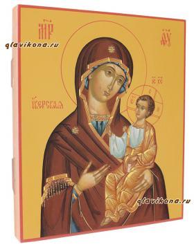 икона Иверская, артикул 279 - вид сбоку