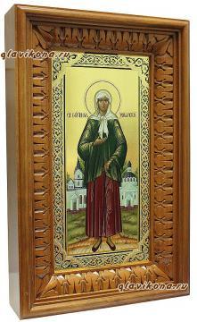 Икона Ксении Петербургской в киоте