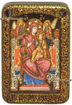 Икона Всецарица, икона состаренная