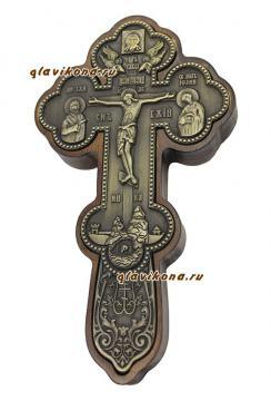 крест посеребренный