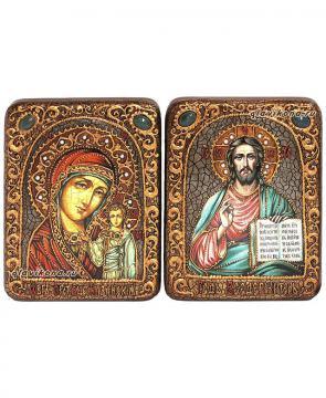 Пара венчальных икон под старину