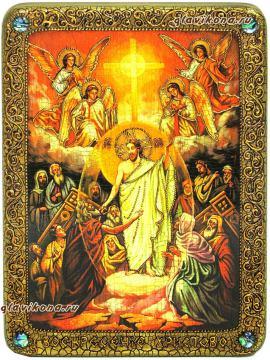 Воскресение Христово, икона под старину