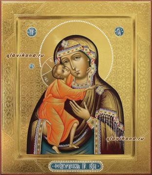 Вид иконы Феодоровская, артикул пары 332