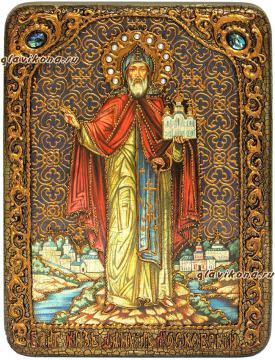 Даниил Московский, аналойная икона
