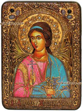 Ангел Хранитель, икона под старину