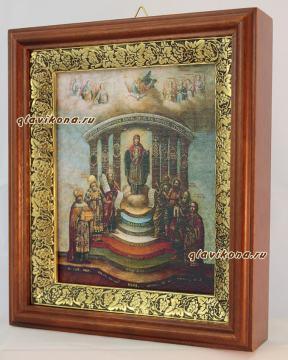 София - Премудрость Божия, икона в киоте, артикул 60585