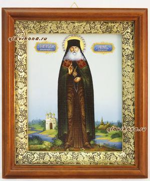 Гавриил Мелекесский, икона на холсте в широком киоте