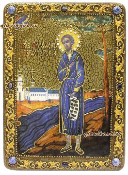 Симеон Верхотурский, икона под старину