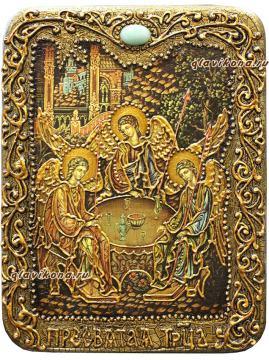 Троица - икона подарочная