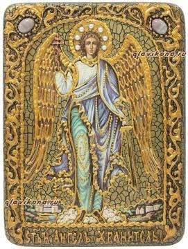 Ангел Хранитель, один из вариантов оформления иконы