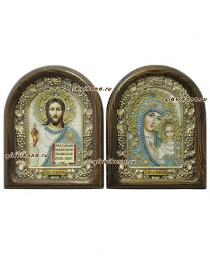 Венчальная пара с Казанской Пресвятой Богородицей
