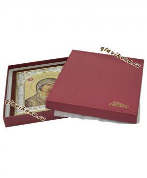комплект иконы с чехлом и подарочной коробкой