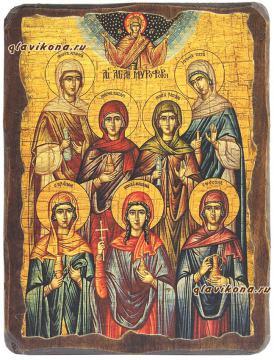 Жены-мироносицы икона под старину