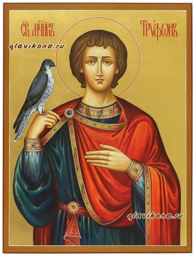 Икона святого мученика Трифона, артикул 509