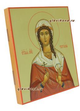 Татьяна - вид иконы сбоку, артикул 6050