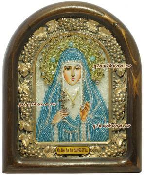Елисавета, икона из бисера