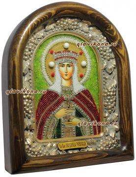 Людмила - вид иконы сбоку