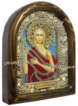 вид иконы Марии сбоку