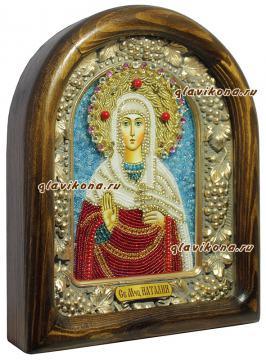 икона Наталии - вид сбоку