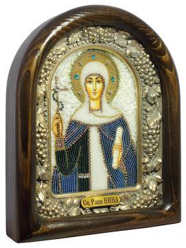 икона святой Нины, вид сбоку