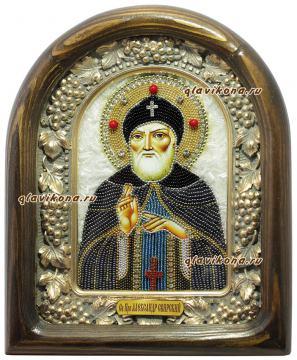 Александр Свирский икона бисером