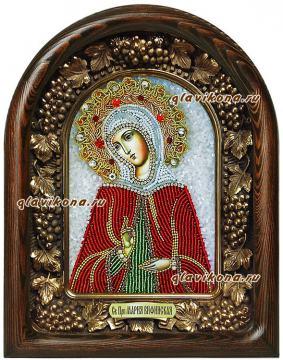 Мария Вифанская икона бисером
