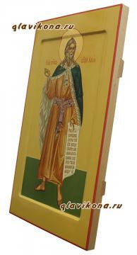 Вид иконы пророка Илии сбоку