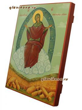 Спорительница хлебов - вид сбоку иконы, артикул 5300