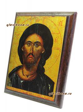 Вид иконы Спкасителя сбоку, артикул 10521
