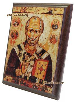 Николай Чудотворец,, вид сбоку, артикул 10501