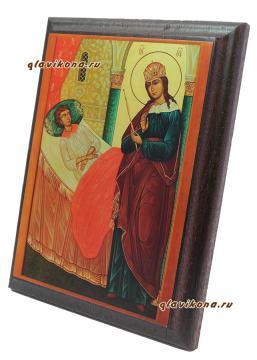 Целительница Божия Матерь, артикул 10519, вид сбоку