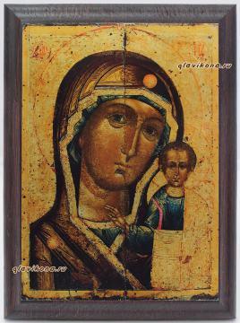 Казанская Божия Матерь, подарочная икона, артикул 10508