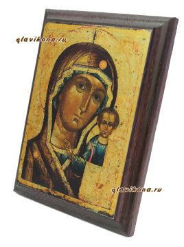 Казанская Божия Матерь, артикул 10508, вид сбоку